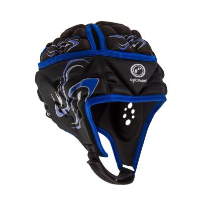 Optimum Inferno Headguard Black/Blue Kids - Front