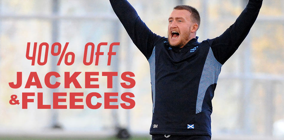 40% off Jackets & Fleeces - SHOP NOW!