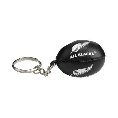 Gilbert All Blacks Keyring - Front