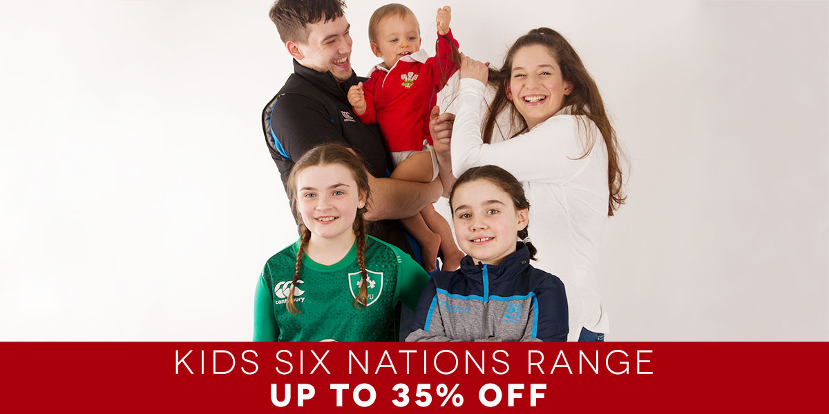 Kids Six Nations - UP TO 35% OFF!