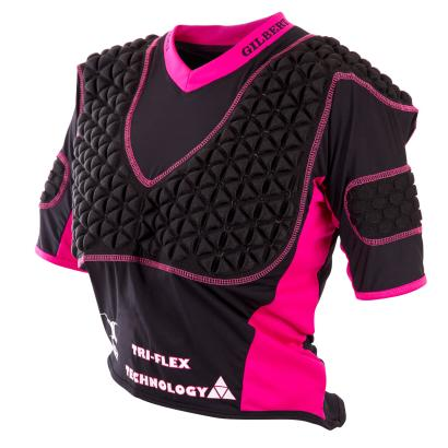 Gilbert Ladies Triflex Shoulder Pads - Front