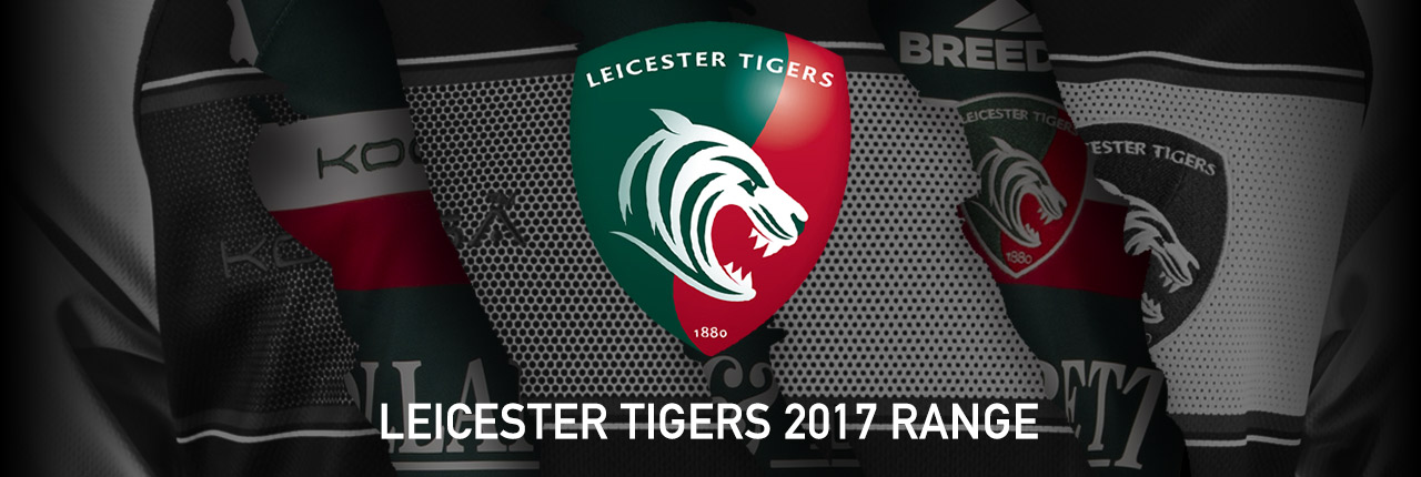 Leicester Tigers 2017 Range - Shop Now!