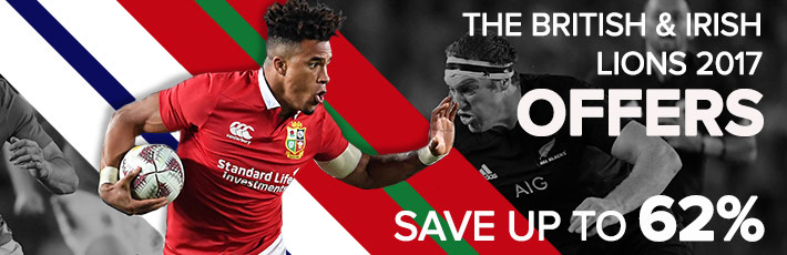 British and Irish Lions Offers - SHOP NOW!