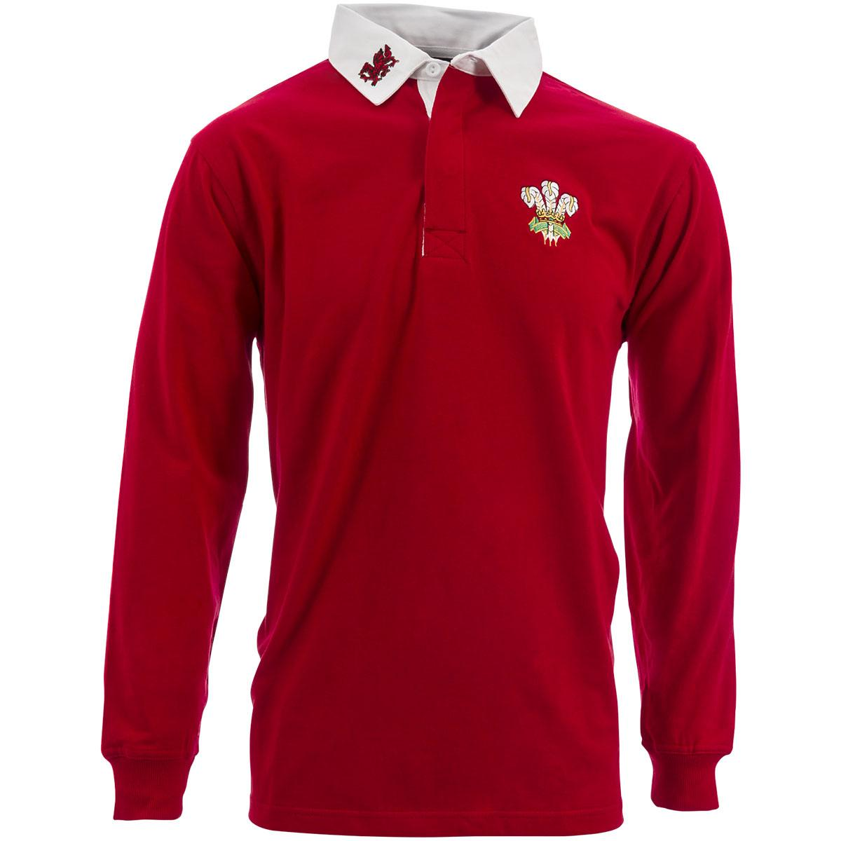 Wales Classic Rugby Shirt Long Sleeved Rugbystore