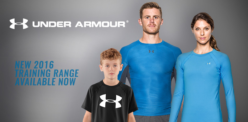 New Under Armour Training Range - Available Now