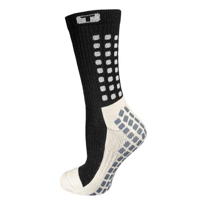 Mid Calf Cushion Trusox Black - Front