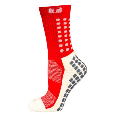 Mid Calf Cushion Trusox Red - Front