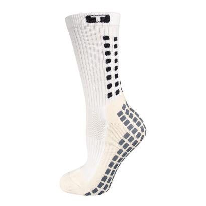 Mid Calf Cushion Trusox White - Front