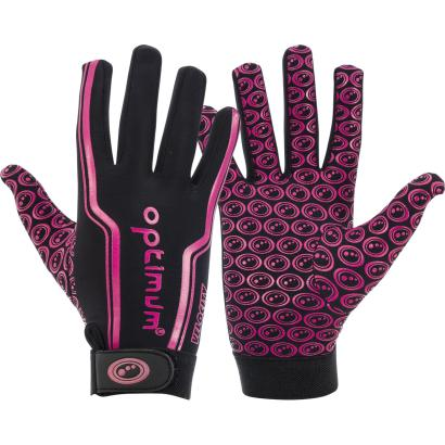 Optimum Velocity Full Stik Mits Black/Pink Kids - Front