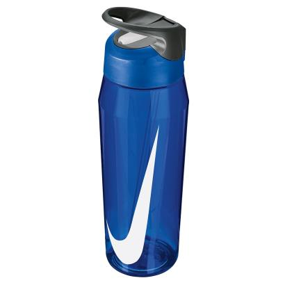 Nike TR Hypercharge Straw Water Bottle 32oz Game Royal - Front