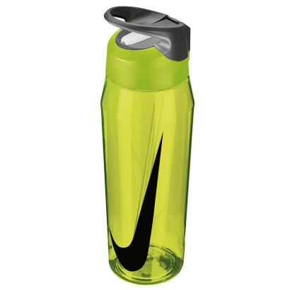 Nike TR Hypercharge Straw Water Bottle 32oz Volt - Front