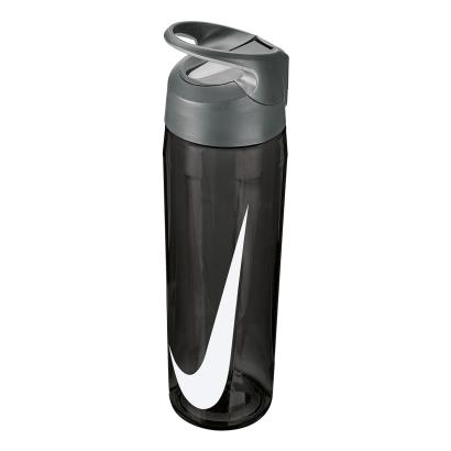 Nike TR Hypercharge Straw Water Bottle 24oz Anthracite - Front