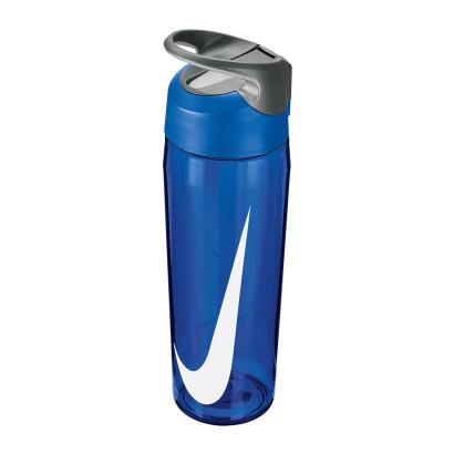 Nike TR Hypercharge Straw Water Bottle 24oz Game Royal - Front