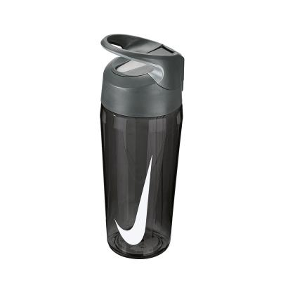 Nike TR Hypercharge Straw Water Bottle 16oz Anthracite - Front