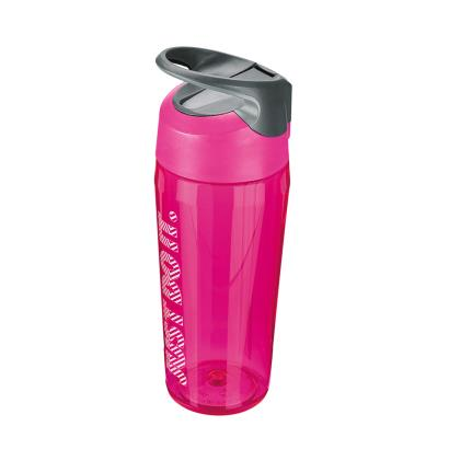 Nike TR Hypercharge Straw Water Bottle 16oz Vivid Pink - Front