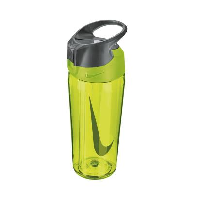 Nike TR Hypercharge Straw Water Bottle 16oz Volt - Front
