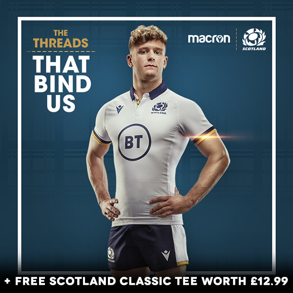 New Scotland Rugby Range - SHOP NOW!
