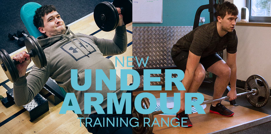 New Under Armour Range - SHOP NOW!