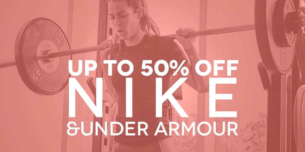 1db59ad54 May Bank Holiday Sale - NIKE   UNDER ARMOUR!