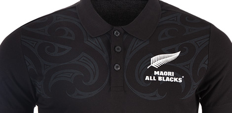 New Zealand All Blacks Polos and Tees Range