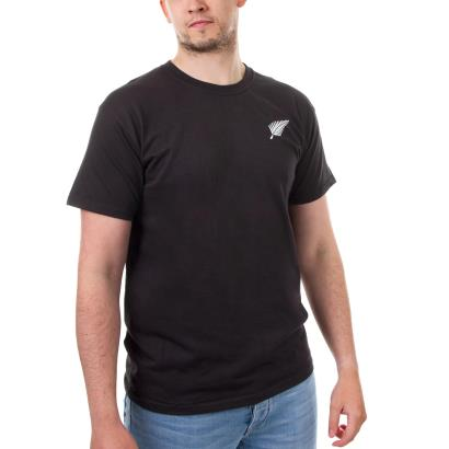 New Zealand Classic Tee Black - Front