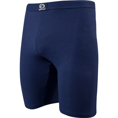 Optimum Cotton Lycra Shorts Navy Kids