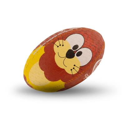 Optimum Lion Mini Rugby Ball - Front 1