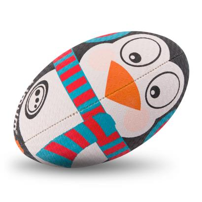 Optimum Christmas Collection Penguin Rugby Ball - Front