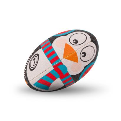 Optimum Christmas Collection Penguin Mini Rugby Ball - Front