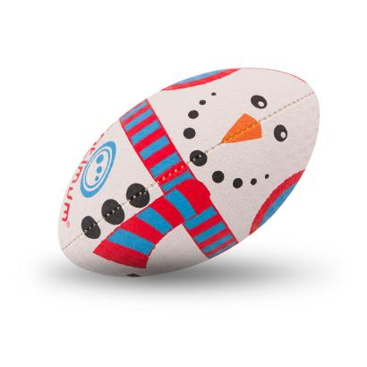 Optimum Christmas Collection Snowman Midi Rugby Ball - Front
