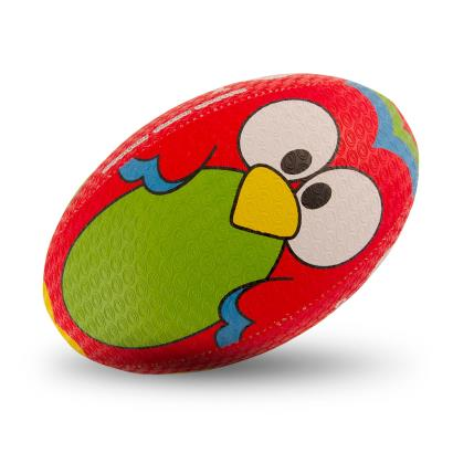 Optimum Parrot Training Rugby Ball - Front 1