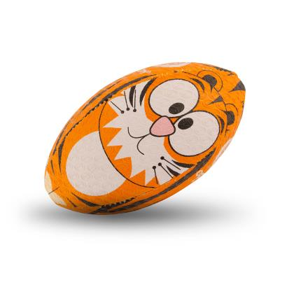 Optimum Tiger Midi Rugby Ball - Front 1