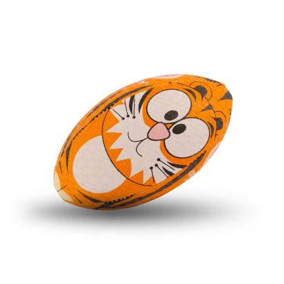 Optimum Tiger Mini Rugby Ball - Front 1