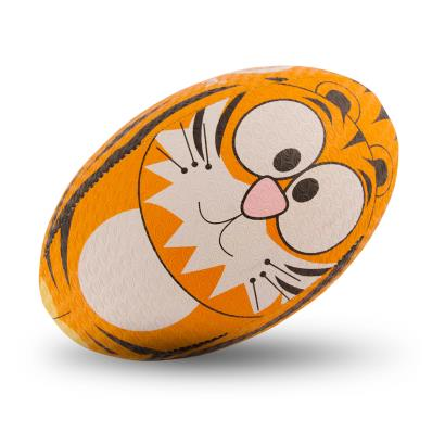 Optimum Tiger Training Rugby Ball - Front 1