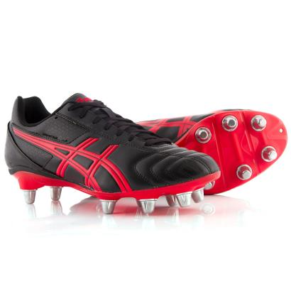 Asics Lethal Tackle Rugby Boots Onyx - Front