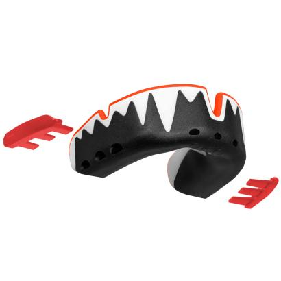 Opro Fangz Platinum Mouthguard - Front