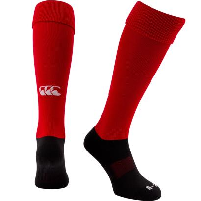 Canterbury Playing Socks Red - Front