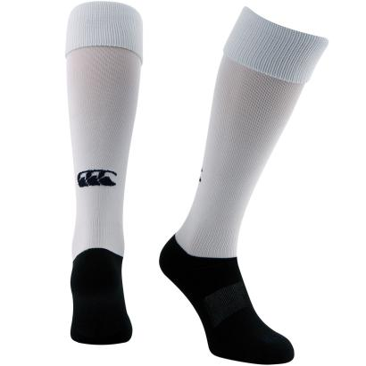 Canterbury Playing Socks White - Front
