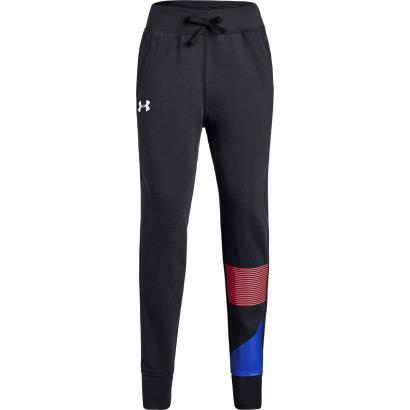 Under Armour Girls Rival Joggers Black - Front