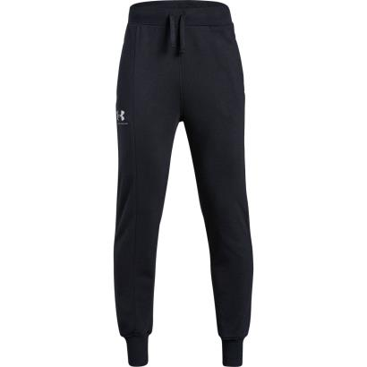 Under Armour Rival Blocked Jogger Black Kids - Front