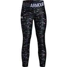 ccbfb7380f201 Under Armour Girls Heatgear Printed Crop Leggings Black