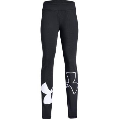 Under Armour Girls Finale Leggings Black - Front