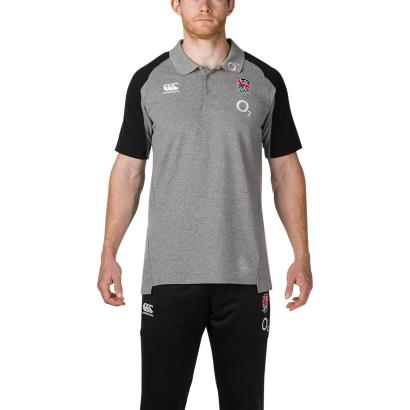 England Vapodri Cotton Pique Polo Static Marl 2019 - Model 1