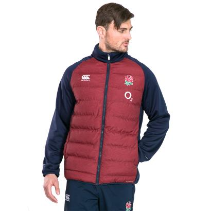 England Thermoreg Hybrid Jacket Chilli Pepper Marl 2020 - Model 1