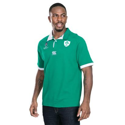 Rugby World Cup 2019 Ireland Vapodri Classic Home Shirt S/S front