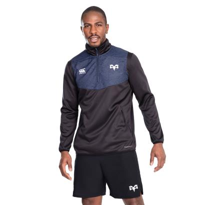 Ospreys Thermoreg Quarter Zip Top Black 2020 - Model 1