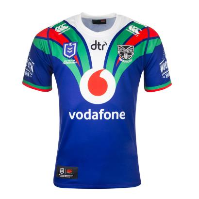 NZ Warriors Rugby League Pro Home Shirt S/S 2020 - Front