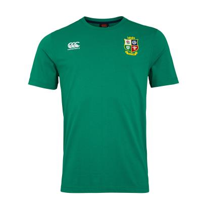 British and Irish Lions 2021 Cotton Tee Bosphorus - Front