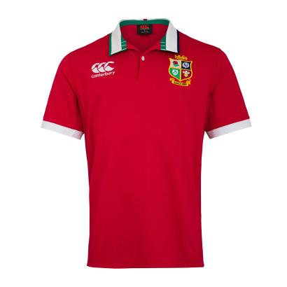 British and Irish Lions 2021 Classic Rugby Shirt S/S - Front