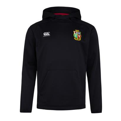British and Irish Lions 2021 Thermoreg Pullover Hoodie Black - Front